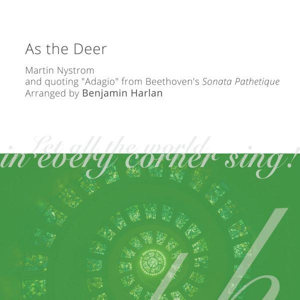 Harlan Arrangement Cover (As the Deer)