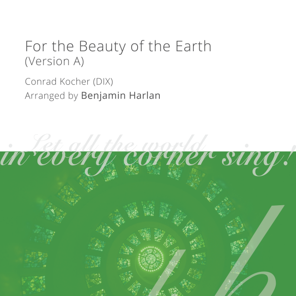 Harlan Arrangement Cover (For the Beauty of the Earth Version A)