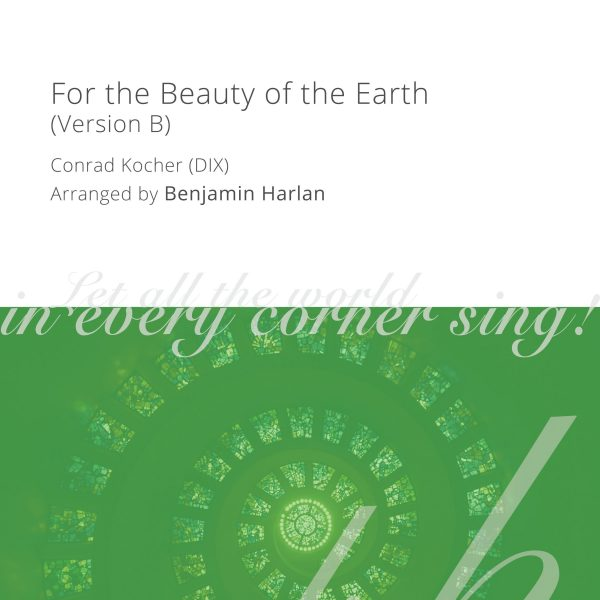 Harlan Arrangement Cover (For the Beauty of the Earth Version B)