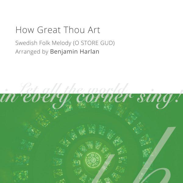 Harlan Arrangement Cover (How Great Thou Art)