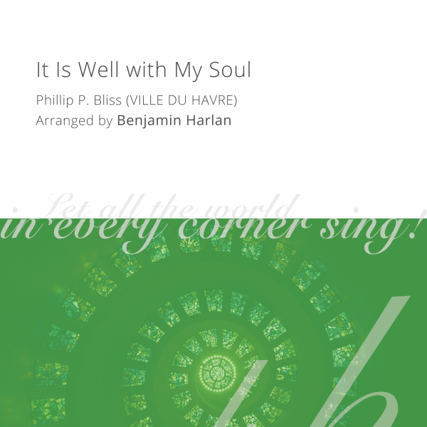 Harlan Arrangement Cover (It Is Well with My Soul)