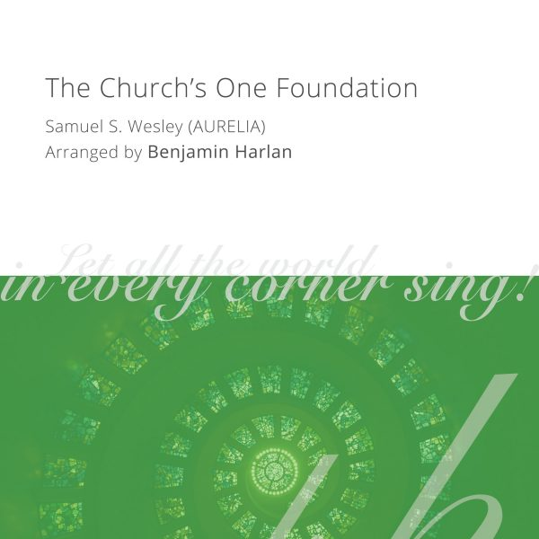 Harlan Arrangement Cover (The Church's One Foundation)