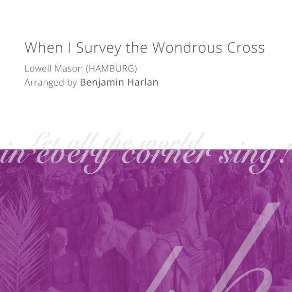 Harlan Arrangement Cover (When I Survey Hamburg)