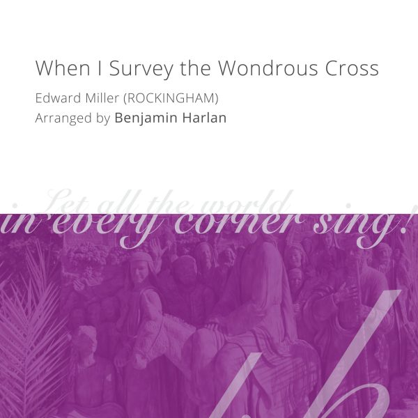 Harlan Arrangement Cover (When I Survey Rockingham)