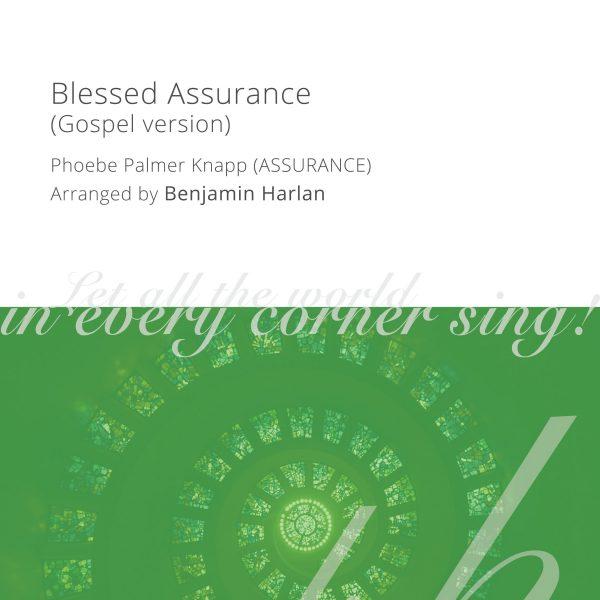 Harlan Arrangement Cover (Blessed Assurance Gospel)
