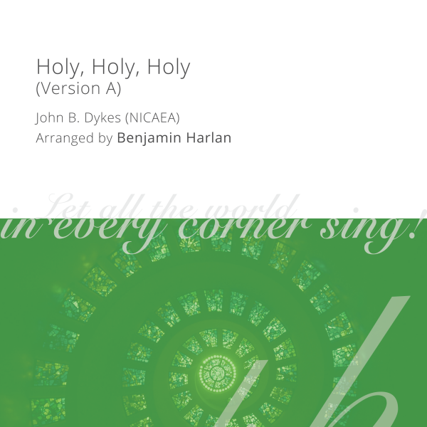 Harlan Arrangement Cover (Holy, Holy, Holy A)