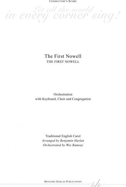The First Nowell ORCH